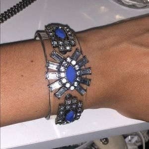 Jcrew cobalt gem bangle